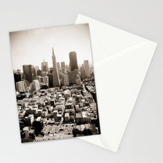 The View from Coit Stationery Cards