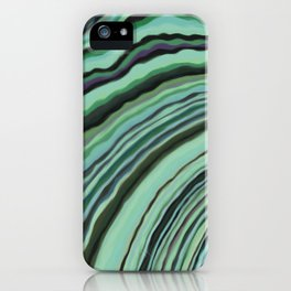 Mineralicious~Mint Tourmaline iPhone Case