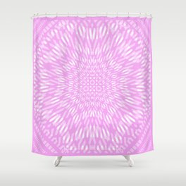 less harm. more good Shower Curtain