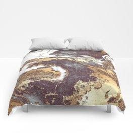 Black White Gold Comforters