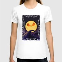 jack skellington T-shirts featuring Starry Night Jack Skellington by ThreeBoys
