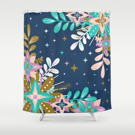 Floral Pop One Shower Curtain
