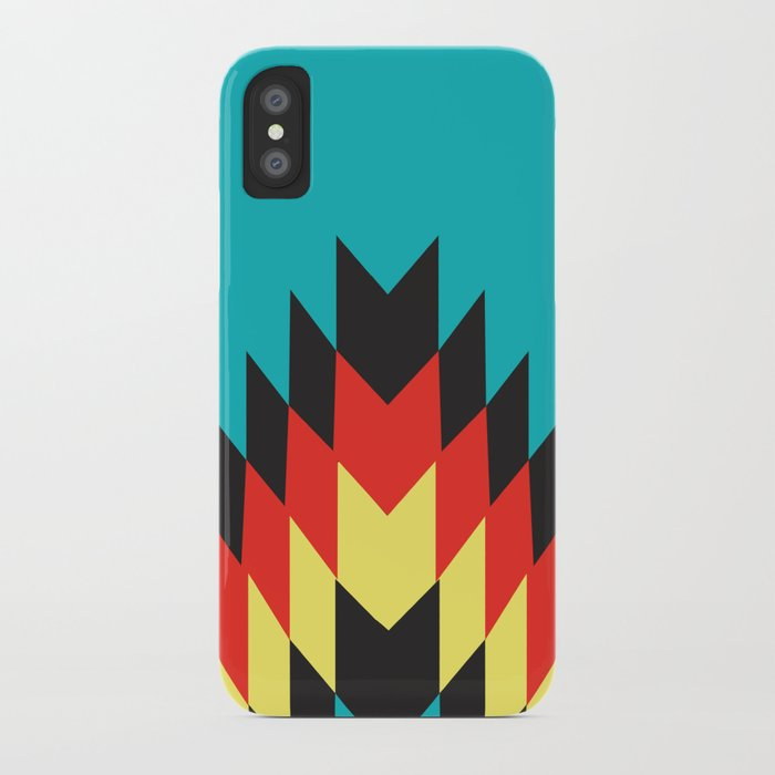 American Native Pattern No. 25 iPhone Case