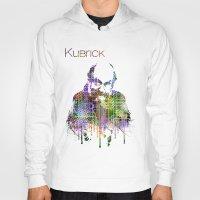 kubrick Hoodies featuring Kubrick by Zoé Rikardo