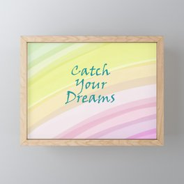Catch Your Dreams Framed Mini Art Print