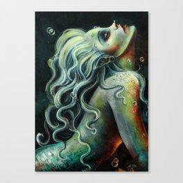 Mermaid's Song Canvas Print