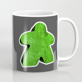 Giant Green Meeple Coffee Mug
