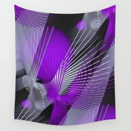 3D - abstraction -124- Wall Tapestry