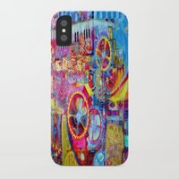 steam punk iPhone & iPod Cases featuring Steam Punk Music Box  by SharlesArt
