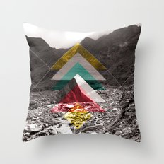 Sojourn series - Fox Glacier  Throw Pillow
