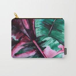 Aquarell Plant Stromanthe Sanguinea Carry-All Pouch