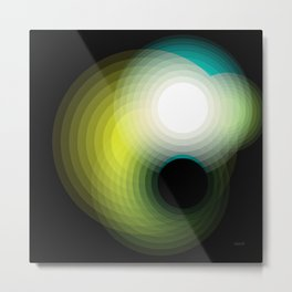Black Hole by Friztin Metal Print