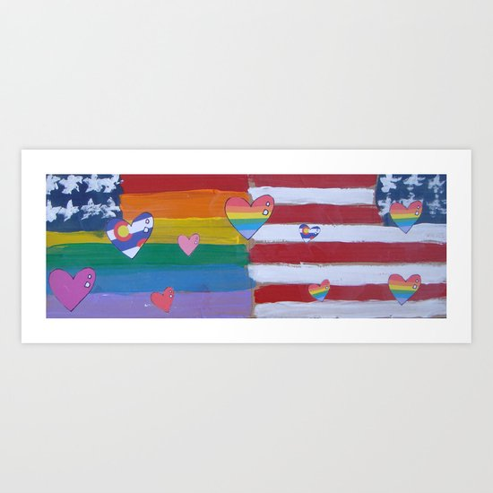 Flags for The Future 33 Art Print