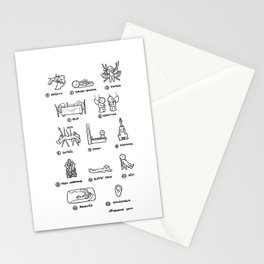 Hannibal - Season 1: Bloodless Edition! Stationery Cards