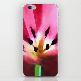 Painted Tulip iPhone Skin