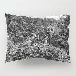Spaatz-Eaker Mining Claim Cabin, Siskiyou National Forest, California, 1952 Pillow Sham