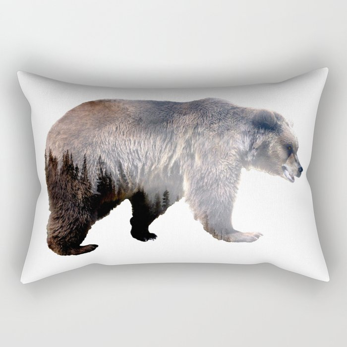 Bear Rectangular Pillow