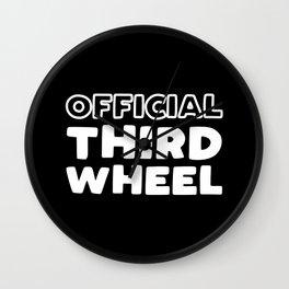 Official Third Wheel Wall Clock