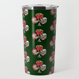 Club Playing Card Shape - Las Vegas Icons Travel Mug