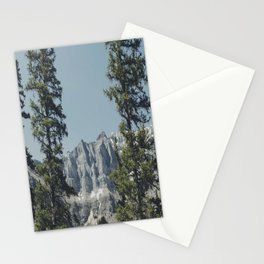 Peeping Mountain  Stationery Cards
