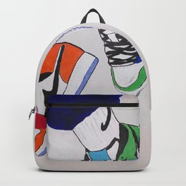 Sneaker Colorful Air Jordan 1's Backpack