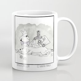 The Architect at Work Coffee Mug