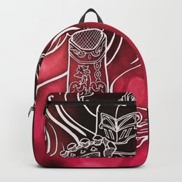 Wolf Knight: Red Backpack