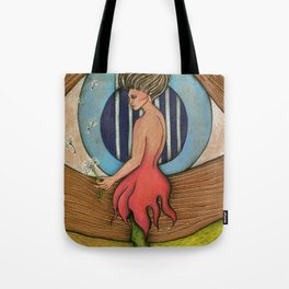 Lady Wish Tote Bag