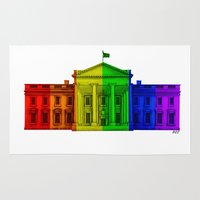equality Area & Throw Rugs featuring Marriage Equality by End Of Prohibition