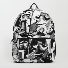 Chapter One: Never Talk with Strangers - b&w Backpack