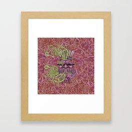 Bes Under Water Framed Art Print