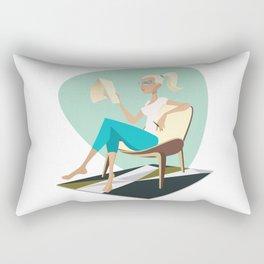 Pesky Little Sketches Rectangular Pillow
