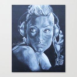 Olivia Wilde Canvas Print