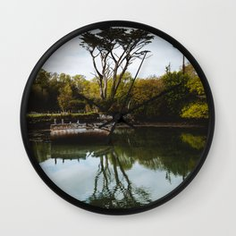 Dunboy Castle Old Boat Wall Clock