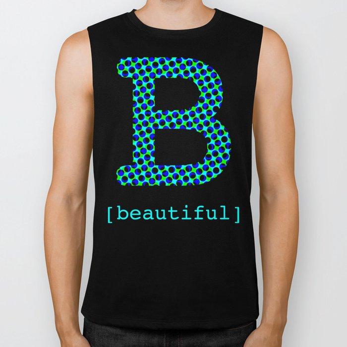 #B [beautiful] Biker Tank