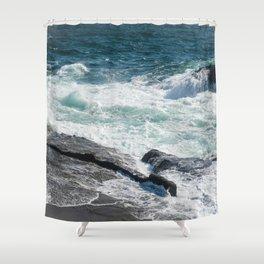 Sagami Shore Shower Curtain