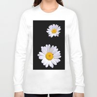 daisy Long Sleeve T-shirts featuring Daisy  by Cozmic Photos