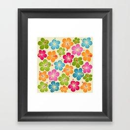 Hibiskus Framed Art Print