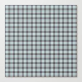 Midnight Gemstone 600 Twill Plaid Canvas Print