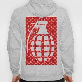 Supreme Grenade - Art print Hoody