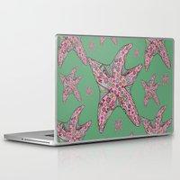 starfish Laptop & iPad Skins featuring Starfish by Planet Hinterland by Carmen Hickson