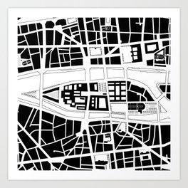 Île de la Cité. Paris Art Print