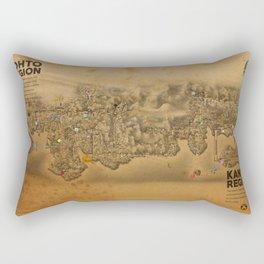 Kanto Region Map Rectangular Pillow