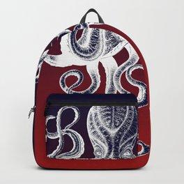 Vintage Octopus Colors Backpack