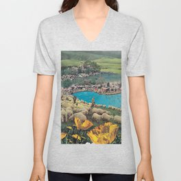 Sheep Farm Unisex V-Neck