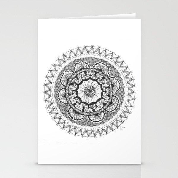 Zendala - Zentangle®-Inspired Art - ZIA 18 Stationery Cards