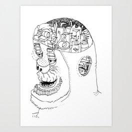 Gear Art Print