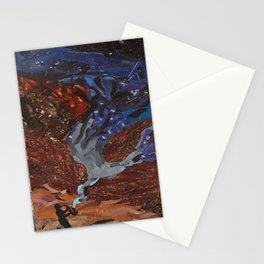 Playing to the Stars Stationery Cards