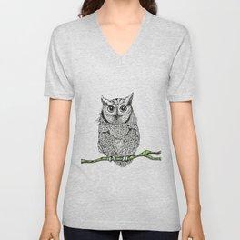 owl elders Unisex V-Neck