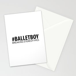 Ballet Boy - Breaking Stereotypes Stationery Cards